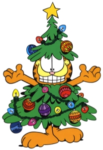 Xmas-Garfield-Tree